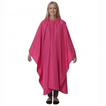 Salons Direct Water Repellent-Static Free Cutting Gown-Fuchsia