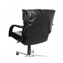 Lotus Chair Back Cover Black 46cm