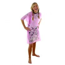 Hair Tools Childrens Doggy Gown Pink