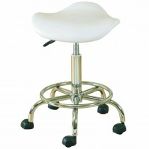 Skinmate White Beauty Saddle Stool