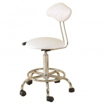 SkinMate Therapist Support Stool White