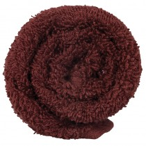 Lotus Classic Hair Towel Bitter Chocolate x12