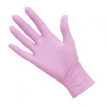Pro Nitrile Gloves Non-Latex Pink Medium x 50 pairs