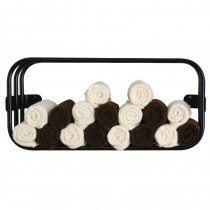 Lotus Uno Towel Rack Black