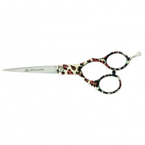 AMA Silhouette Leopard Skin Scissor 5.75in