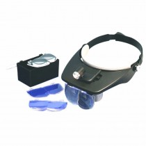 Deluxe LED Headband Magnifier Kit