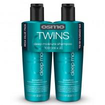 Osmo Deep Moisture Shampoo Twin Pack 2 x 1 Litre