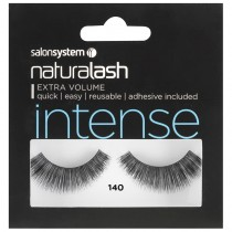 Salon System Naturalash Strip Lashes 140 Intense Black