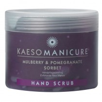 Kaeso Mulberry And Pomegranate Sorbet Hand Scrub