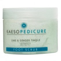 Kaeso Lime and Ginger Tingle Foot Scrub 450ml