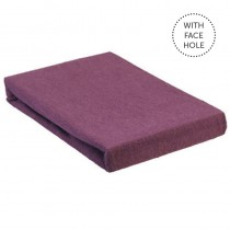 Aztec Classic Couch Cover with Face Hole Aubergine