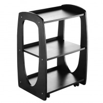 Lotus Brent Wooden Beauty Trolley Black