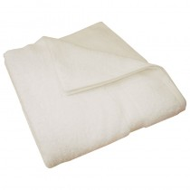 Luxury Egyptian White Bath Towel 70 x 130cm