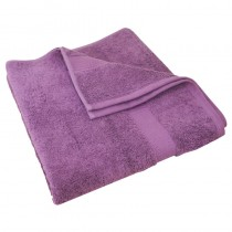 Luxury Egyptian Aubergine Bath Sheet 100 x 150cm Towel