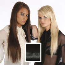 Universal 20in Clip in Human Hair Extensions 105g