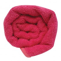 Lotus Microfibre Hair Towel Hot Pink x12