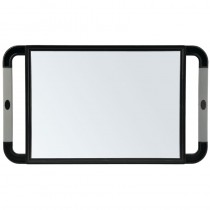 Sibel Back Mirror Black