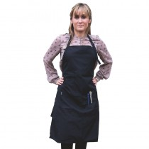 Salons Direct Woven Apron Black
