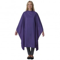Salons Direct Pop Shot Purple Rain Gown with Popper Fastener