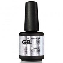 Gellux Silver Crystal 15ml Glitter Gel Polish