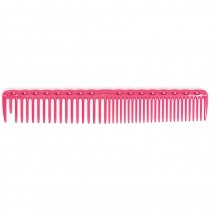 YS Park YS 338 Quick Cutting Round Tooth Grip Comb Pink
