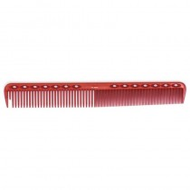 YS Park YS G45 Extra Long Fine Cutting Comb with Guide Red