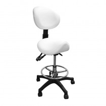 Lotus Spa Stool with Saddle Seat