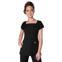 Enzo Tunic Black Size 16 by Florence Roby