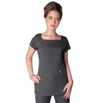 Enzo Tunic Grey Size 16 by Florence Roby