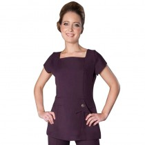 Enzo Tunic Plum Size 16 by Florence Roby