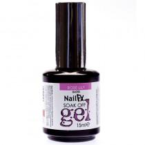 NailFX Rose Lily Soak Off Coloured Gel Polish 15ml