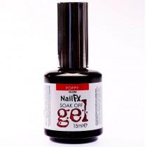 NailFX Poppy Soak Off Coloured Gel Polish 15ml