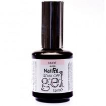 NailFX Nude Soak Off Coloured Gel Polish 15ml
