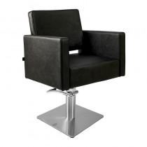 Lotus Phoenix Styling Chair Black With Square Base