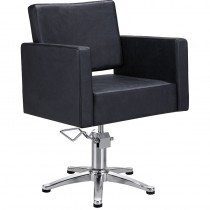 Lotus Phoenix Styling Chair Black with 5 Star Base