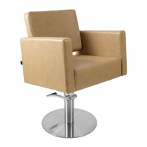 Lotus Phoenix Styling Chair Biscuit with Round Base