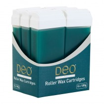 DEO Roller Wax Tea Tree Cartridges 100ml x 6