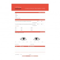 Hi Brow Consultation Cards