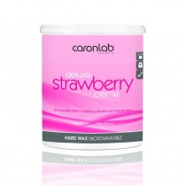Caronlab Strawberry Creme Strip Wax 800g