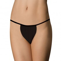 Ladies Disposable G String Black x 50 One Size