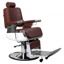 Lotus Raleigh Barber Chair Brown