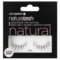 Salon System Naturalash 090 Black Strip Lashes