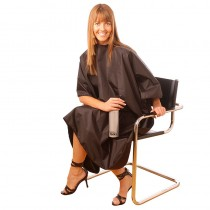 Hair Tools Tint Proof Gown Standard Size Black