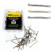 "Hair Tools Brown Extra Long Triple Wave Grips 2.5"" x 500"