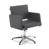REM Colorado Hydraulic Styling Chair Black Only