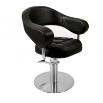 Lotus Corby Styling Chair Black Round Base