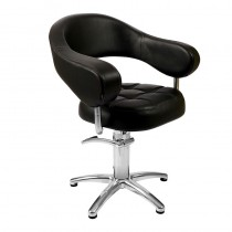 Lotus Corby Styling Chair Black 5 Star Base