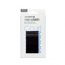 Marvelash C Curl Lashes 0.20 Volume 11mm Black x 2960 by Salon System