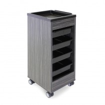 REM Stadium Dusk Trolley with Black Flat Top Tray