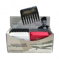 Jack Dean Pompadour Comb Box of 24 Assorted Colours